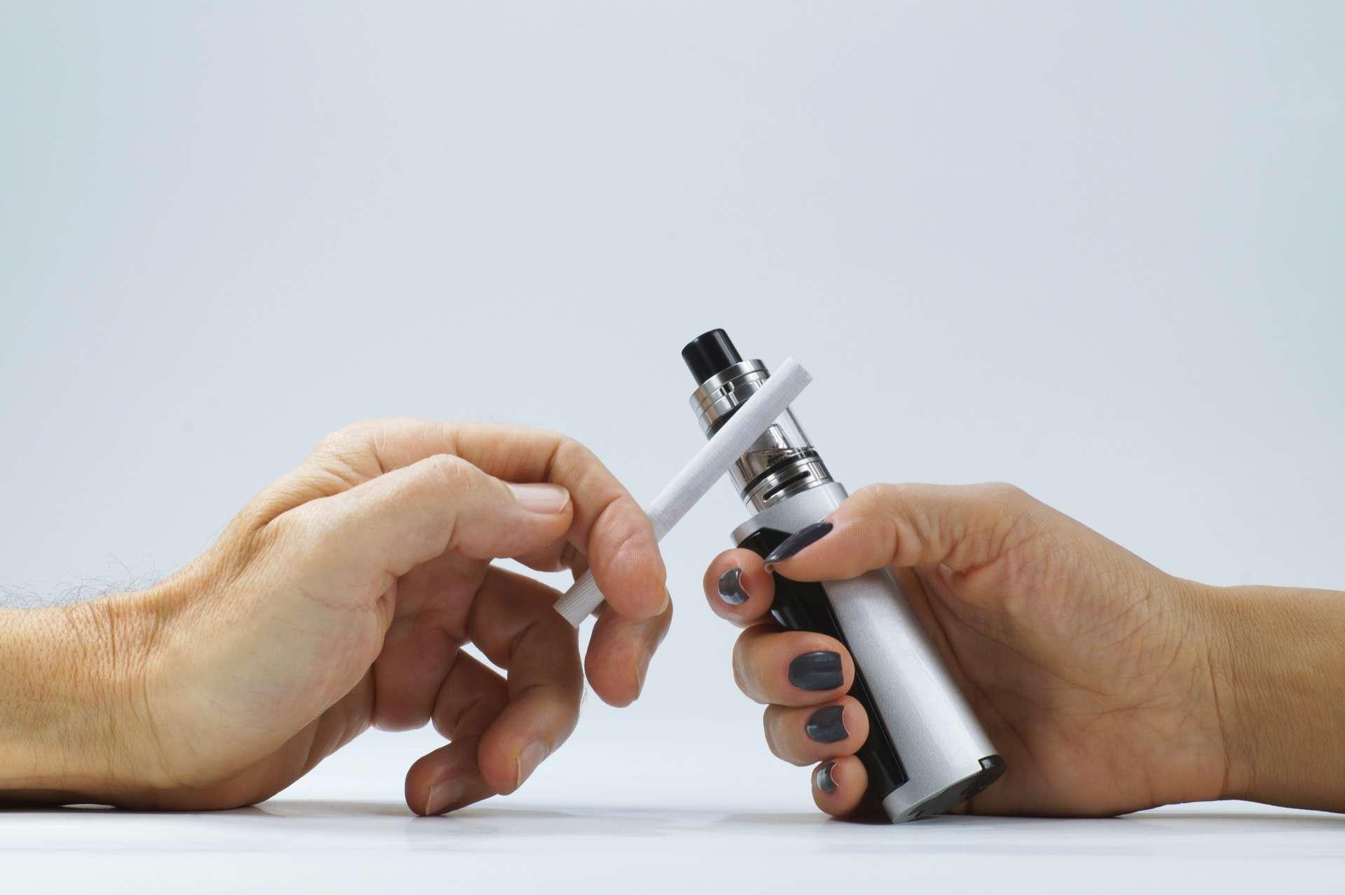 Cigarette électronique : qu'en est-il du switch ?